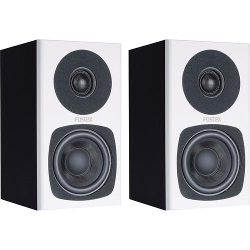 Fostex PM0.3 2-Way Powered Monitor Speaker System (White) PM0.3W