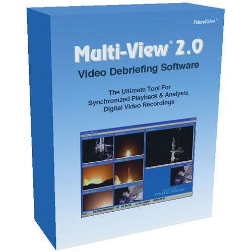 FutureVideo Multi-View 2.0 Video Debriefing Software FV0038