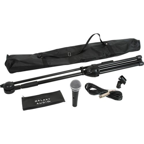 Galaxy Audio RT-66SXD Complete Microphone and Stand Kit RT-66SXD