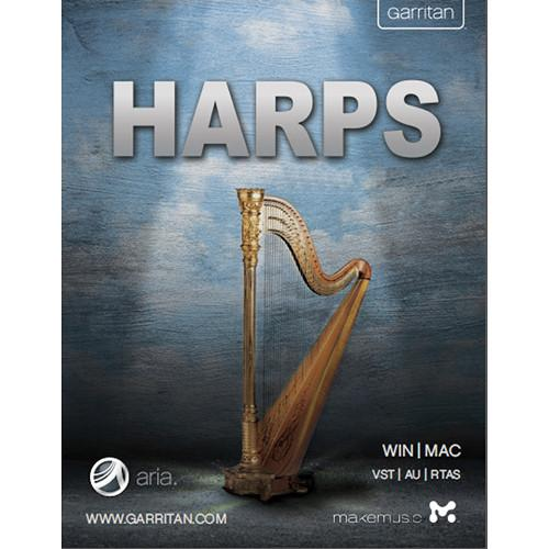 GARRITAN Harps - Virtual Instrument (Boxed) GHPDLR