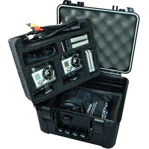 Go Professional Cases XB-552 Case for Two GoPro Cameras XB-552