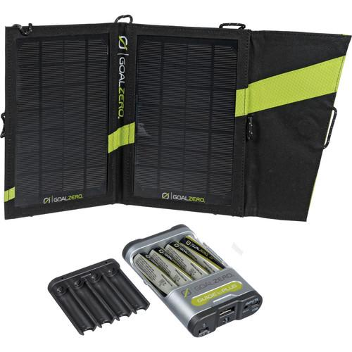 GOAL ZERO Guide 10 Plus Solar Recharging Kit with AA GZ-41022