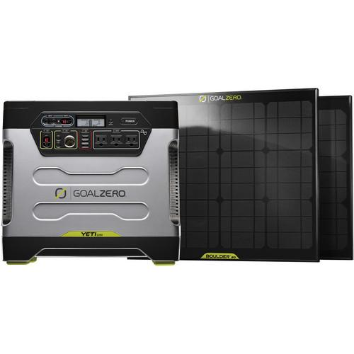 GOAL ZERO Yeti 1250 Solar Generator Power Pack�Kit GZ-39004