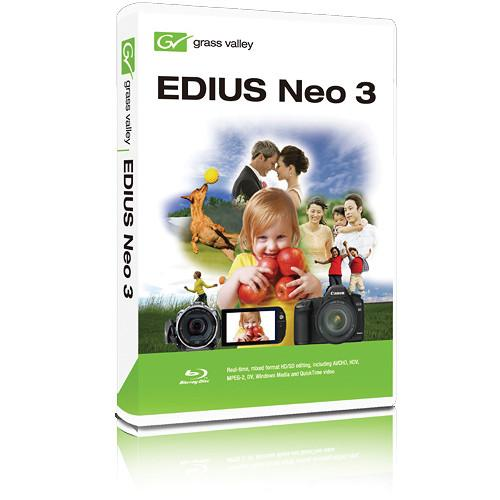 Grass Valley EDIUS Neo 3.2 NLE (Download) GV-606607