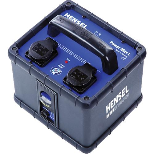 Hensel Power Max L Lithium Mobile Power Supply (120VAC) 1316120
