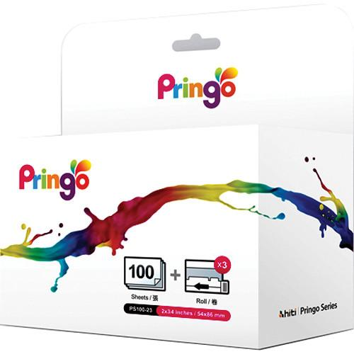HiTi Paper and Ribbon Case for Pringo P231 Printer 87.PG902.06XV