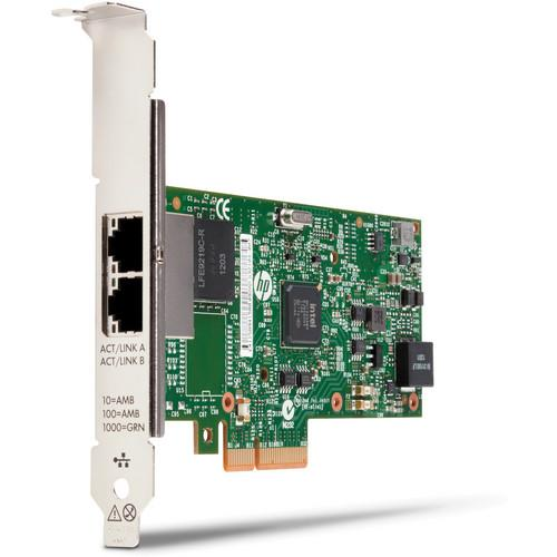 HP 361T PCIe Dual-Port Gigabit Network Interface Card C3N37AA