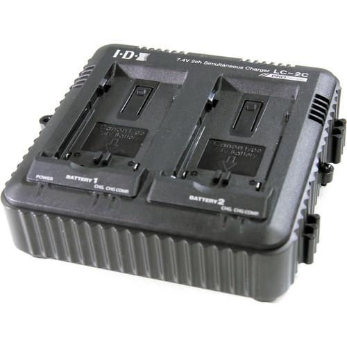 IDX System Technology 2-Channel Simultaneous Charger LC-2C