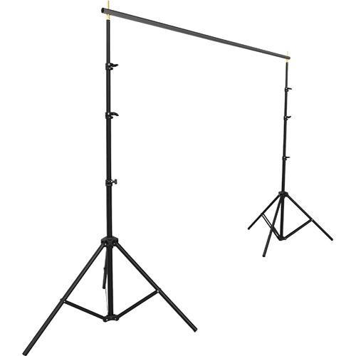 Impact Background System Kit with 10x12' Black, BGS-1012-SK3