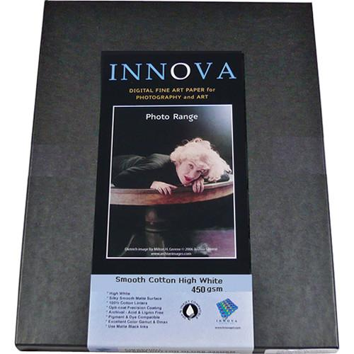 Innova  Smooth Cotton Natural White Paper 24001