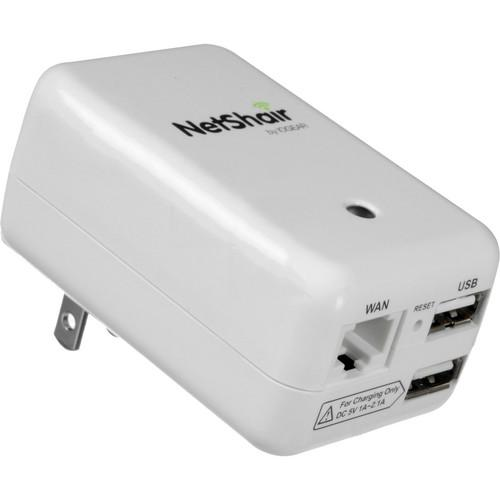 IOGEAR NetShair Link Portable Wi-Fi Router and USB Media GWRH1
