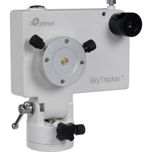 iOptron SkyTracker Camera Mount with Polar Scope (White) 3302W