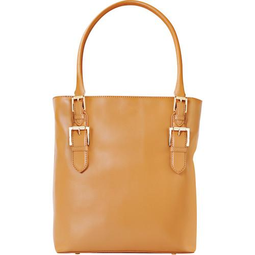 ISAAC MIZRAHI The Emily Camera Tote (Camel) IM42857-C