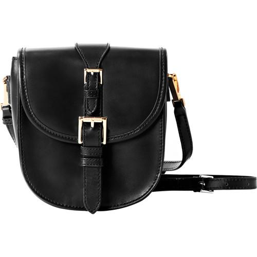ISAAC MIZRAHI The Jane Cross-Body Camera Bag (Black) IM22902-BK