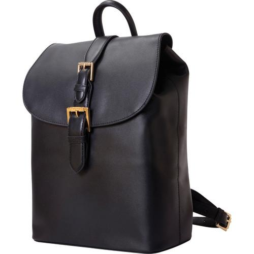 ISAAC MIZRAHI The Kathryn Mini Camera Backpack (Black)