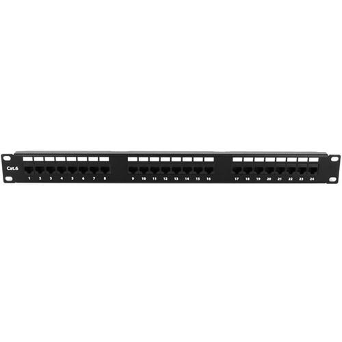 iStarUSA  24 Port 1U Patch Panel WA-PP24-C6