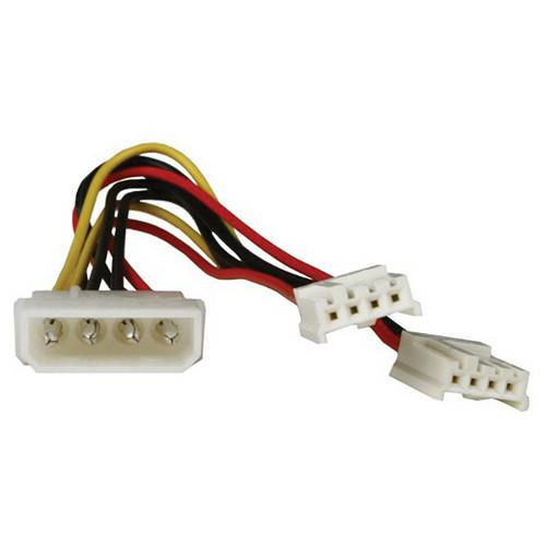 iStarUSA Molex to Dual Floppy Power Splitter Y-Cable ATC-Y-M2F