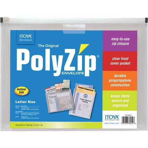Itoya PolyZip Envelope (8.5 x 11.0