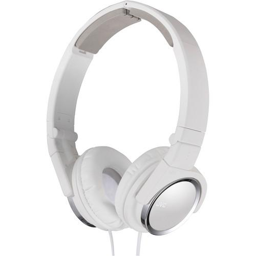 JVC HA-S400-B On-Ear Headphones (White) HA-S400-W