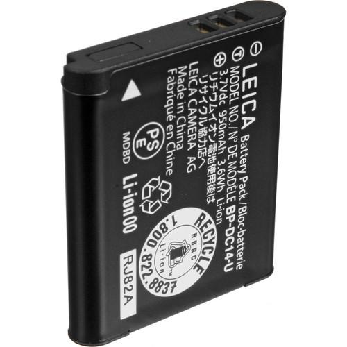 Leica BP-DC14-U Lithium-Ion Battery (3.7V, 950mAh) 18536