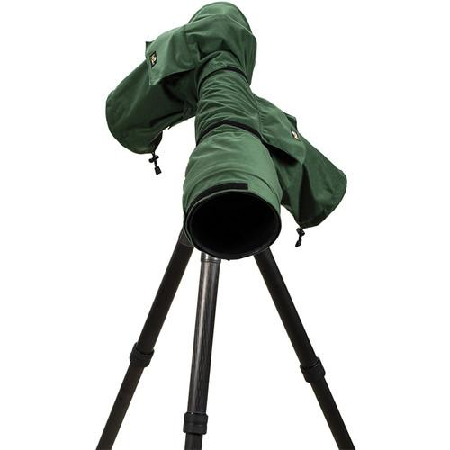 LensCoat RainCoat 2 Pro Camera Cover (Green) LCRC2PGR