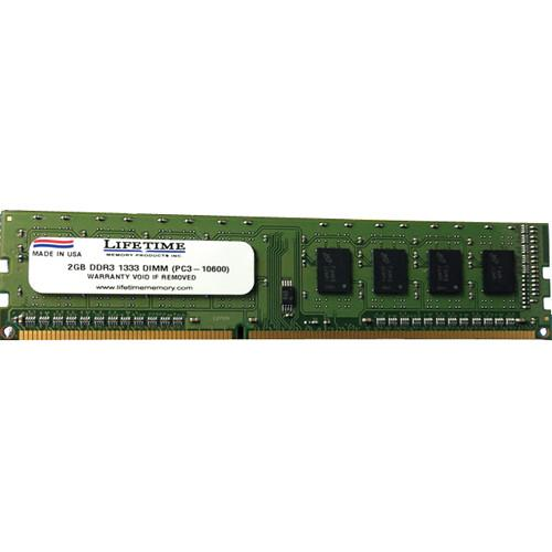 Lifetime Memory 2 GB DDR3 PC3-10600 (1333) DIMM RAM 10307-2