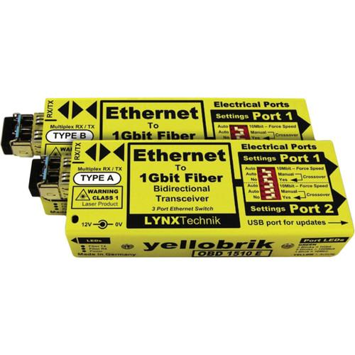 Lynx Technik AG yellobrik OBD 1510 E Ethernet to O BD 1510 E