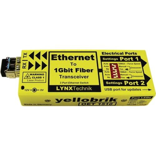 Lynx Technik AG yellobrik OET 1510 Ethernet to 1Gbit O ET 1510