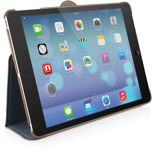 Macally Protective Case & Stand for iPad Air BSTANDPA5-BL