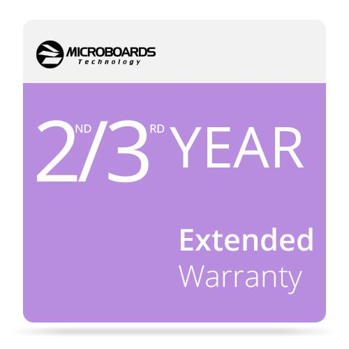 Microboards 2ND/3RD Year Extended Warranty for G4 EW G4P 2&3