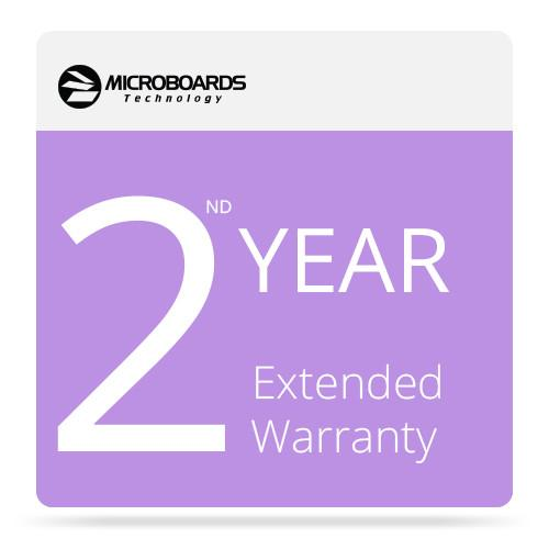 Microboards 2ND Year Extended Warranty for G4 Disc EW G4P 2ND