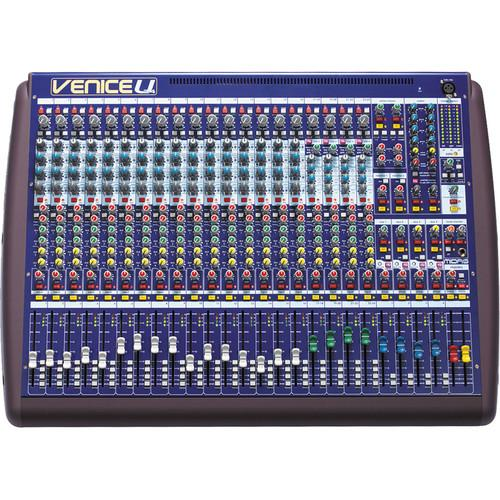Midas Venice U 24 Audio Mixing Console with 8 x VENICEU 24
