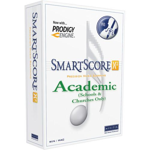 Musitek SmartScore X2 Academic Edition License (3-Pack) SS00141