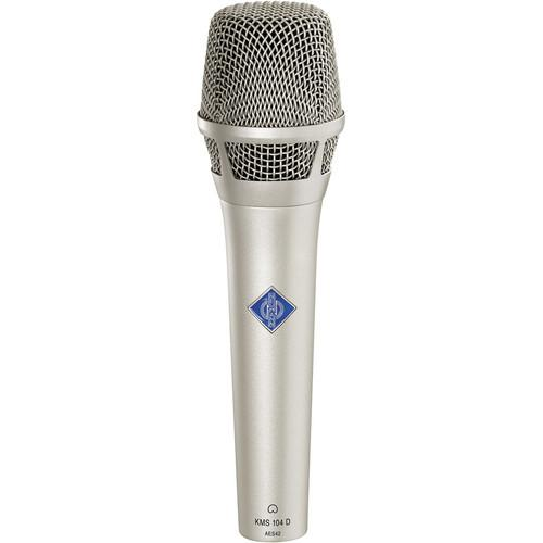 Neumann KMS 104 Digital Vocal Microphone (Nickel) KMS 104 D