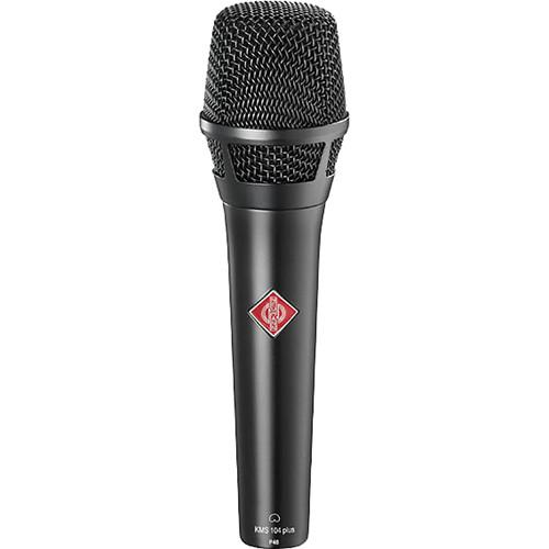 Neumann KMS 104 plus Cardioid Microphone (Black) KMS 104 PLUS BK