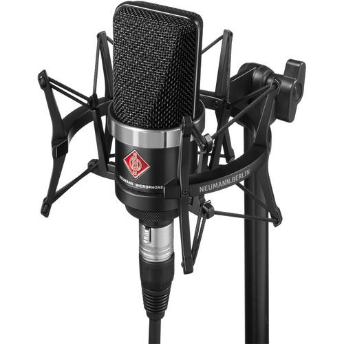 Neumann TLM-102 Large Diaphragm Studio TLM 102 BK STUDIO SET