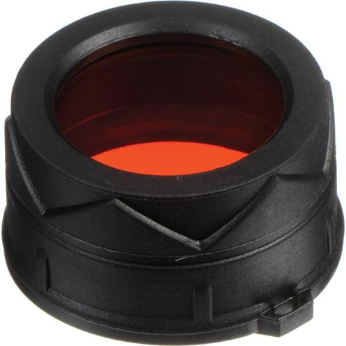 NITECORE  Red Filter for 34mm Flashlight NFR34