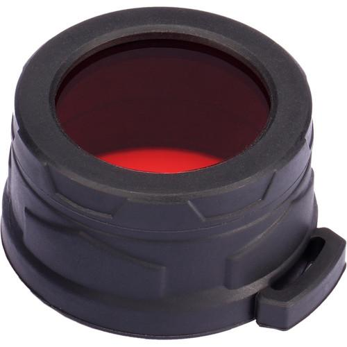 NITECORE  Red Filter for 40mm Flashlight NFR40