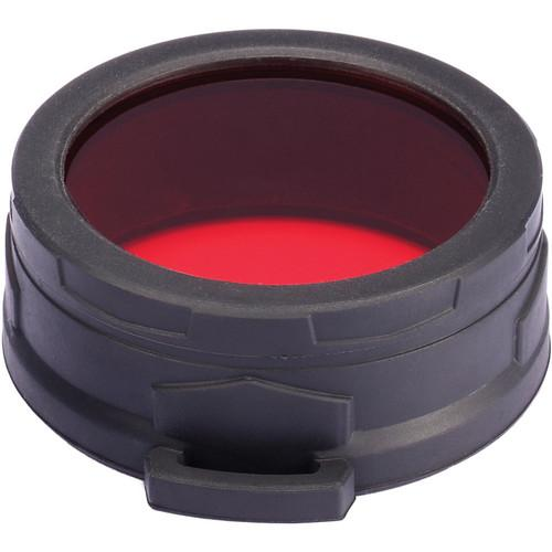 NITECORE  Red Filter for 60mm Flashlight NFR60