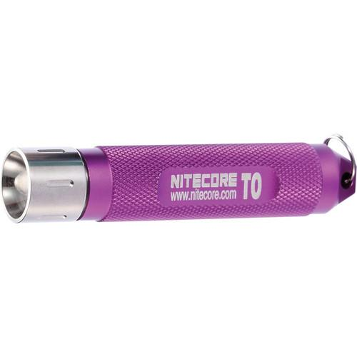 NITECORE  T0 LED Flashlight (Purple) T0 (PURPLE)