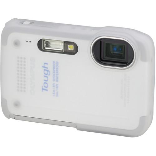 Olympus White Silicone Jacket for TG-630 iHS Camera V600074WW000
