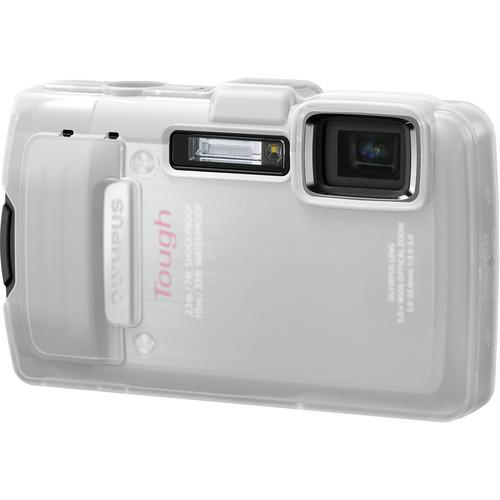 Olympus White Silicone Jacket for TG-830 iHS Camera V600075WW000
