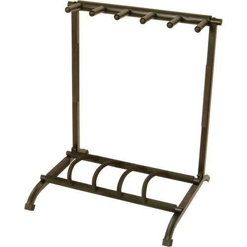 On-Stage GS7561 5-Space Foldable Multi Guitar Rack GS7561