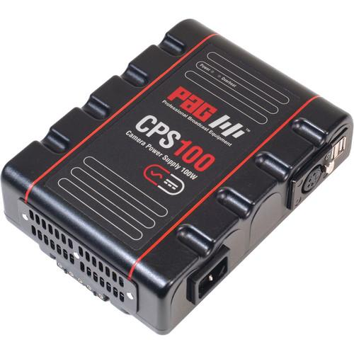 PAG CPS100 Camera Power Supply with V-Mount Connector 9750V