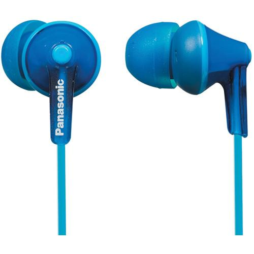 Panasonic ErgoFit In-Ear Headphones (Blue) RP-TCM125-A
