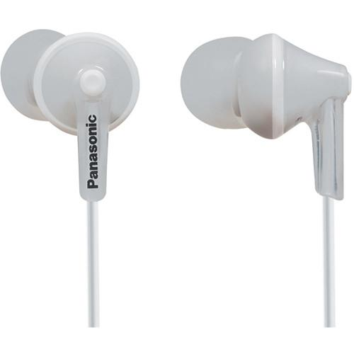 Panasonic ErgoFit In-Ear Headphones (White) RP-TCM125-W