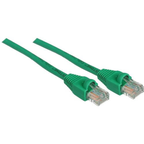 Pearstone 1' Cat5e Snagless Patch Cable (Green) CAT5-01GR