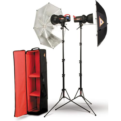 Photoflex FlexFlash 200W Strobe Umbrella Kit SK-FF200DADH30B