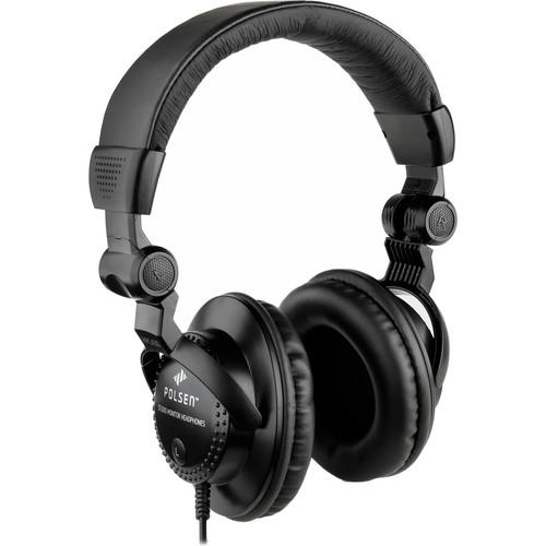 Polsen HPC-A30 Closed-Back Studio Monitor Headphones HPC-A30K