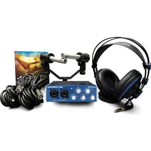 PreSonus AudioBox Stereo USB Stereo Hardware and AUDIOBOX STEREO